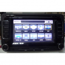 "2 Din VW Passat/Golf/Touran DVD Player with GPS Navigation CDC IPOD 6.5"" LCD Sharp Touch Screen"