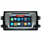 Special Car DVD Player for SUZUKI SX4 with GPS TV Steering Wheel Control FM BT Free Map